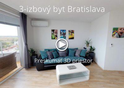 3-izbový byt Bratislava