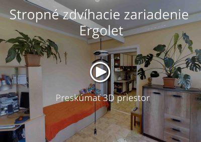 Stropné zdvíhacie zariadenie Ergolet