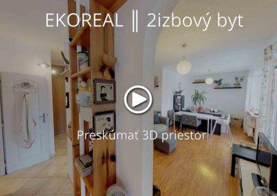 EKOREAL ║ 2izbový byt