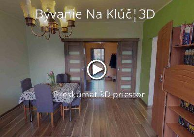BývanieNaKlúč.sk ¦ 3D prehliadka