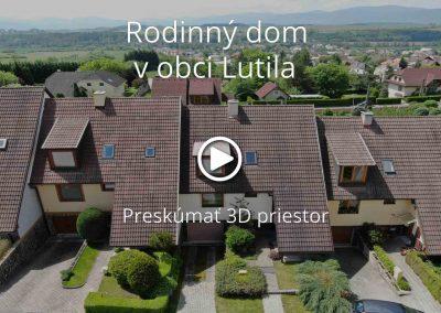 Rodinný dom v obci Lutila