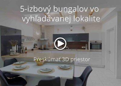 5-izbový bungalov vo vyhľadávanej lokalite | Previdza
