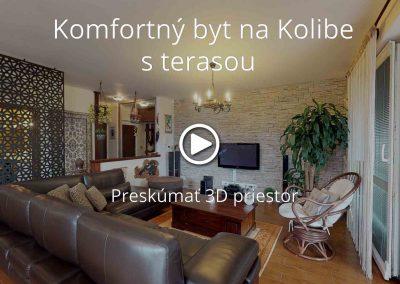 Komfortný byt na Kolibe s terasou